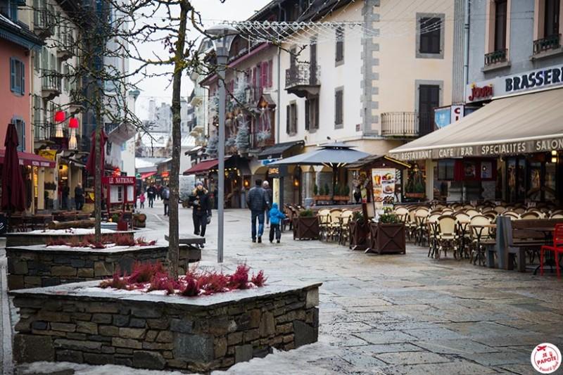 Chamonix centre ville