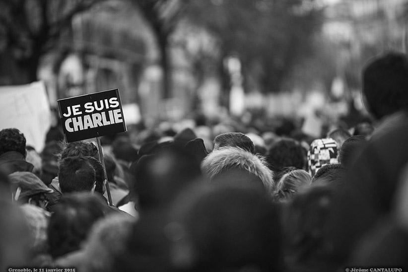 Marche Républicaine Grenoble 2015