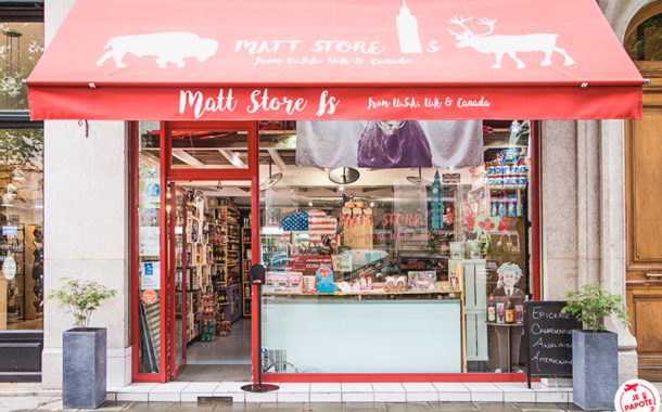 Matt Store Is, l'épicerie américaine, canadienne & anglaise