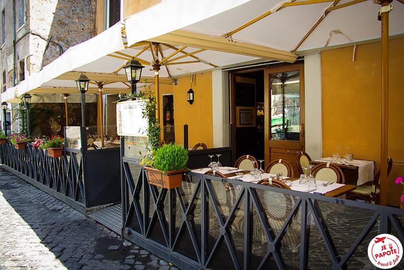 Restaurant Trastevere Rome