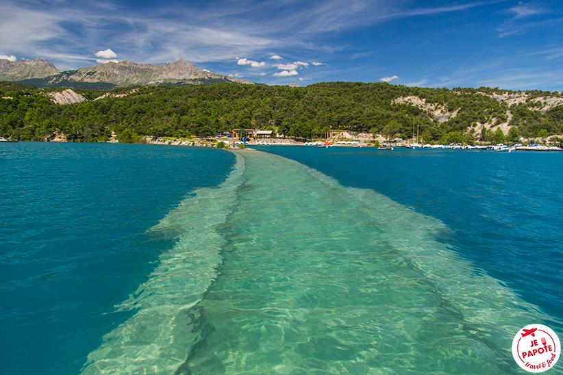 Lac Serre Poncon : Lac de serre ponçon à visiter provence