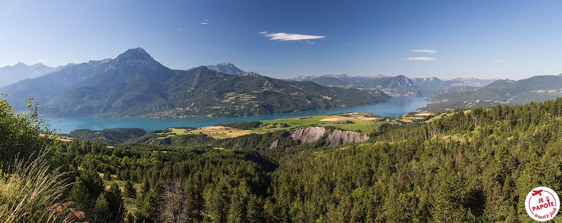 panoramique Lac de Serre Poncon