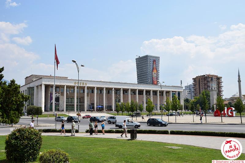 Tirana - Palais de la Culture (1963)