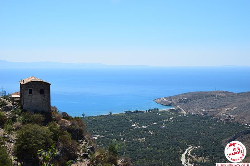 Panorama depuis le vieux Qeparo