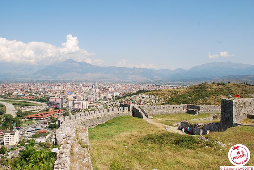 Forteresse de Shkodër Albanie