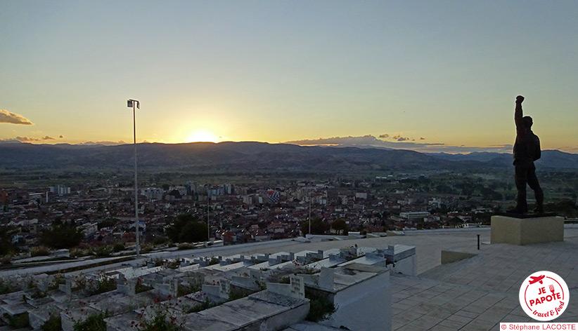 Korçë - Cimetière des martyrs
