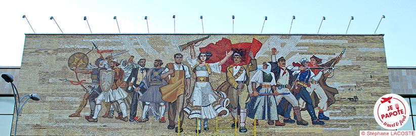 Tirana - Musée national historique (1981)
