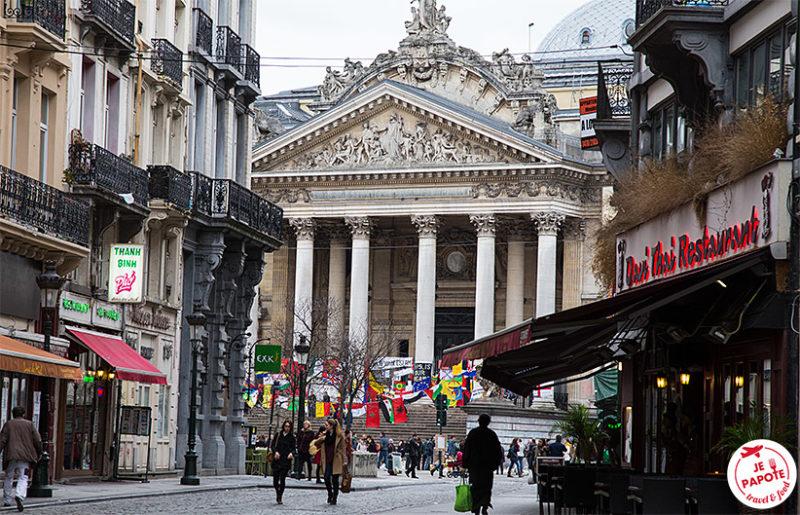 Place de la Bourse Bruxelles