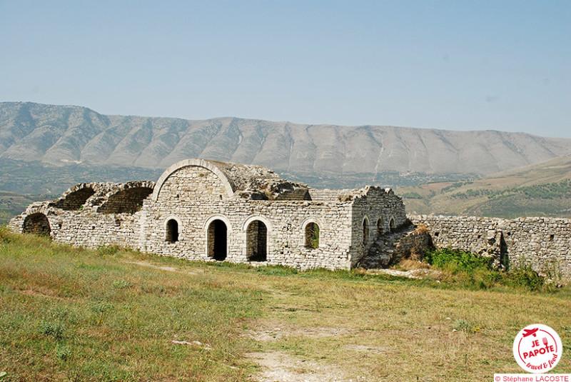 Citadelle de Berat en Albanie