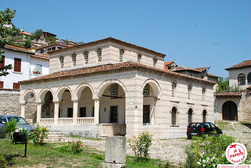 Mosquée à Berat Albanie