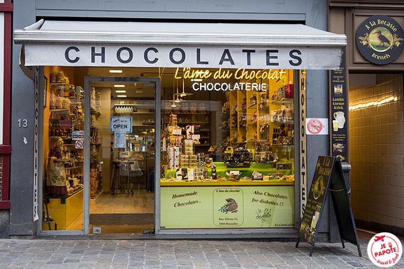 Chocolatier bruxelles