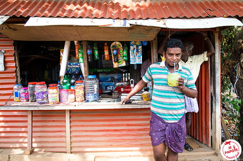 Eau de coco Kerala