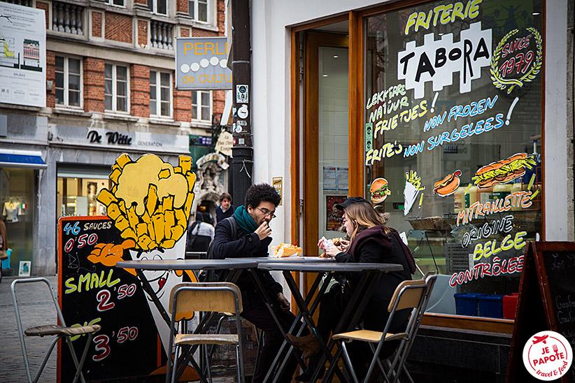Manger à Bruxelles