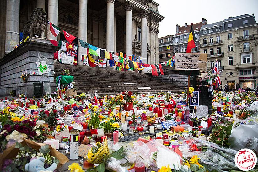 Place de la Bourse attentats