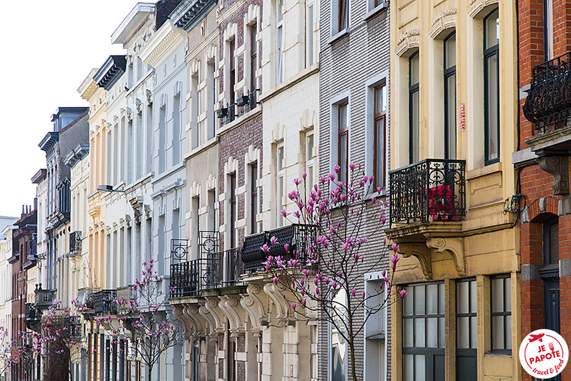 Rues colorées Bruxelles