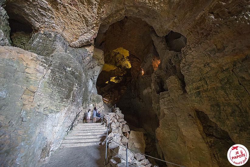 Grottes vers Lyon