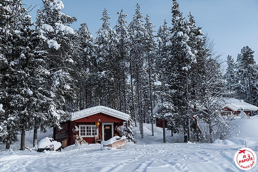 Chalet Laponie suédoise