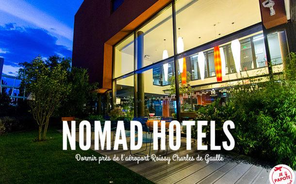 Nomad Hotel Roissy : dormir près de l'aéroport CDG