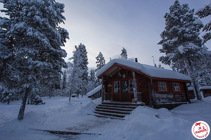 Laponie chalet nature