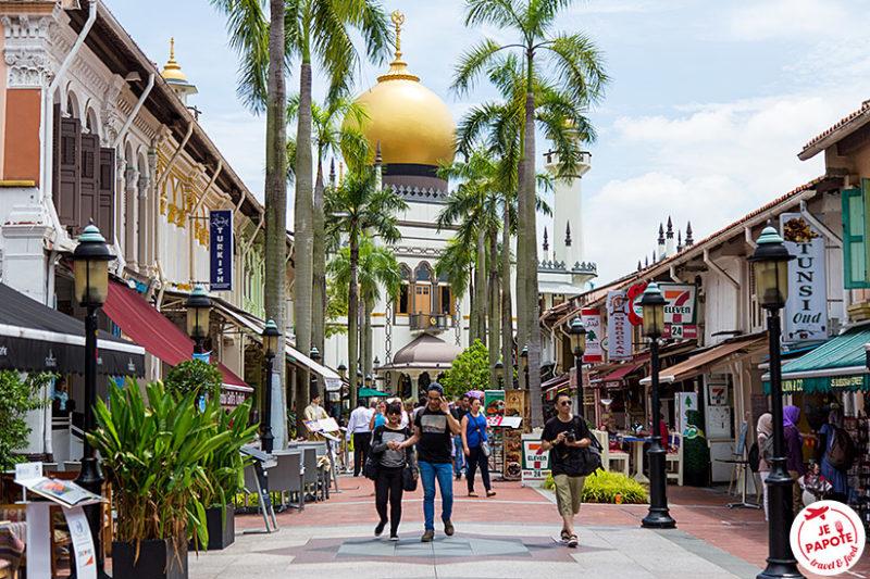 Mosquee du Sultan Singapour