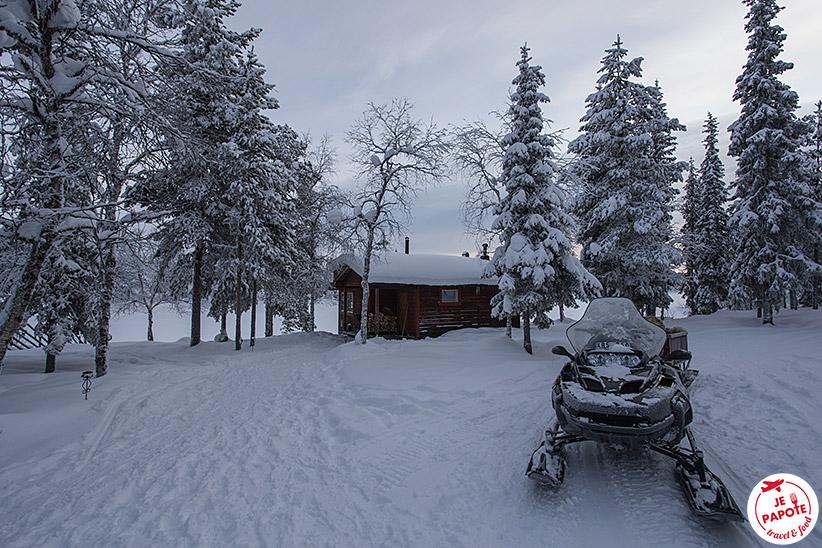 Motoneige Laponie suédoise
