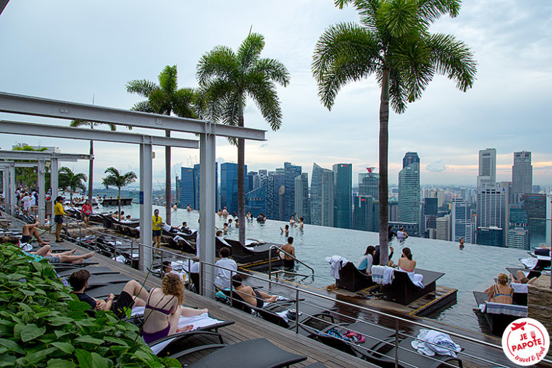 Piscine Marina Bay Singapour