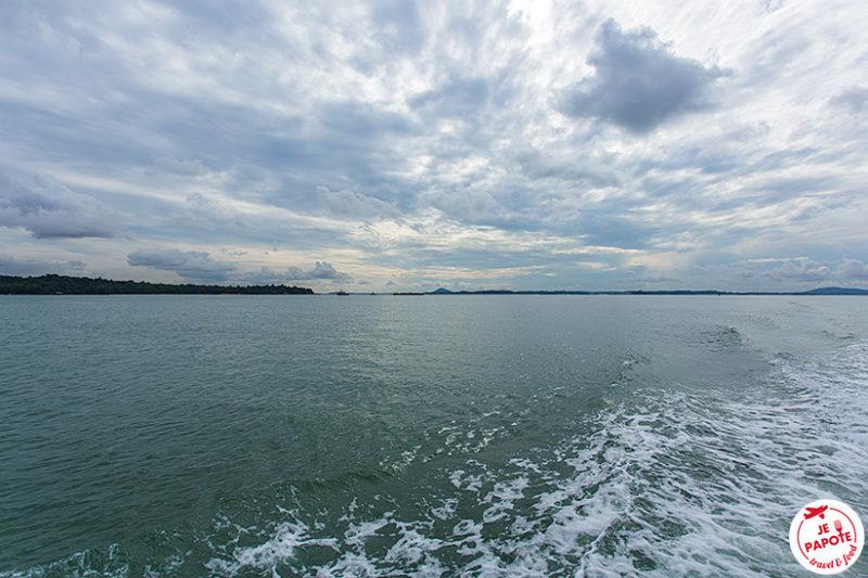 Ile Pulau Ubin Singapour