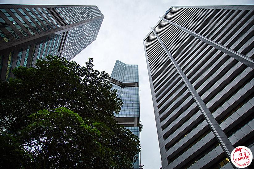 Quartier des Affaires Singapour