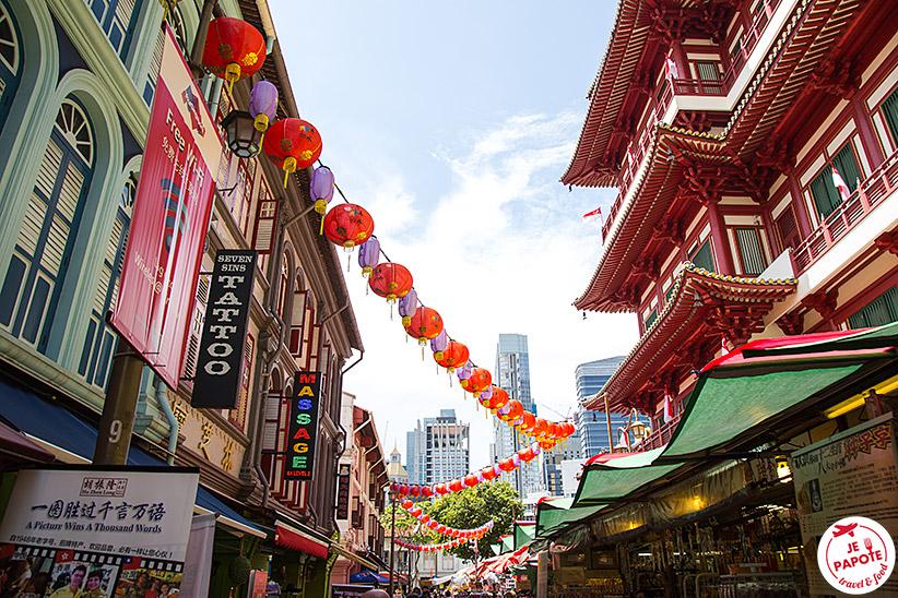 Quartier Chinois Singapour
