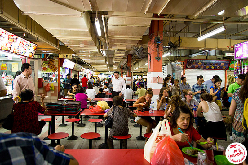 Singapour Hawker center
