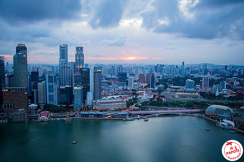 Vue Singapour