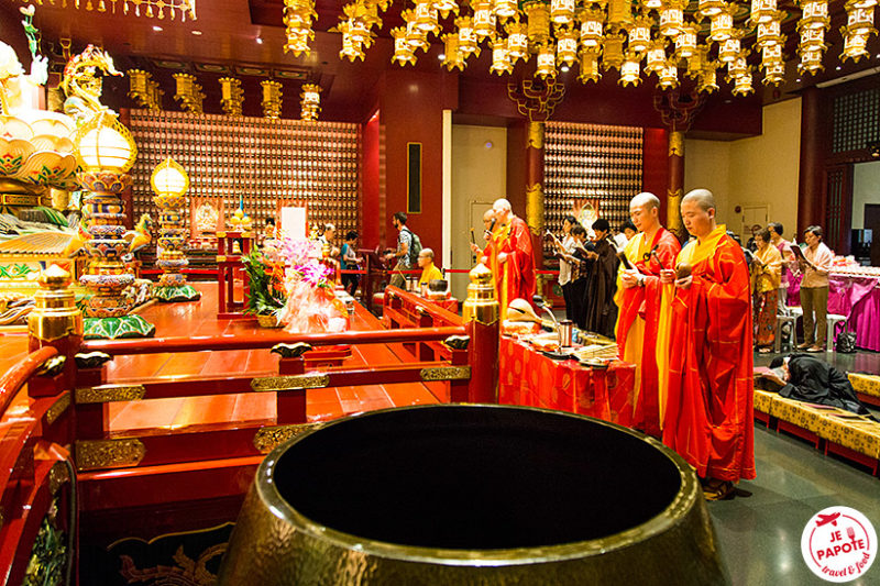 Temple chinois Singapour