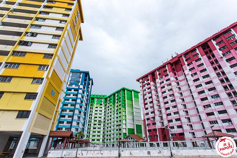 tour couleur Singapour