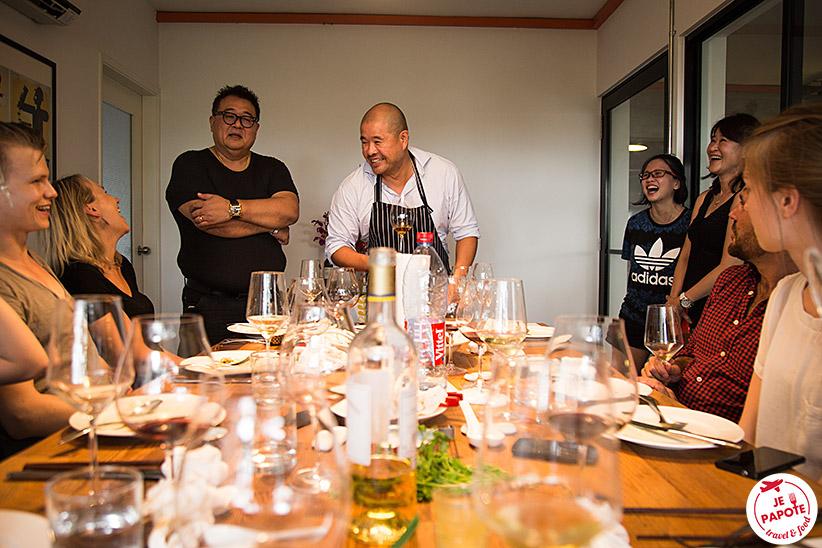 Cuisine maison Singapour