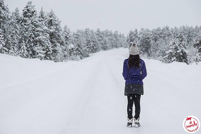 Notre hiver en Laponie
