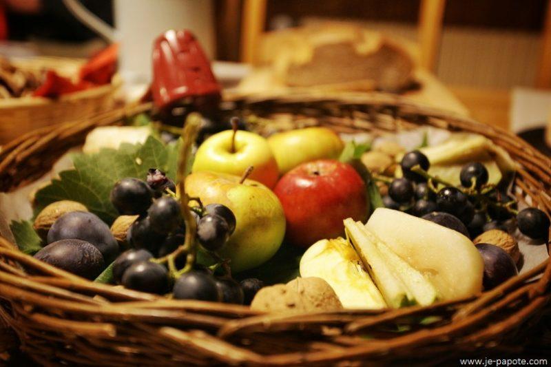 Brisolée fruits