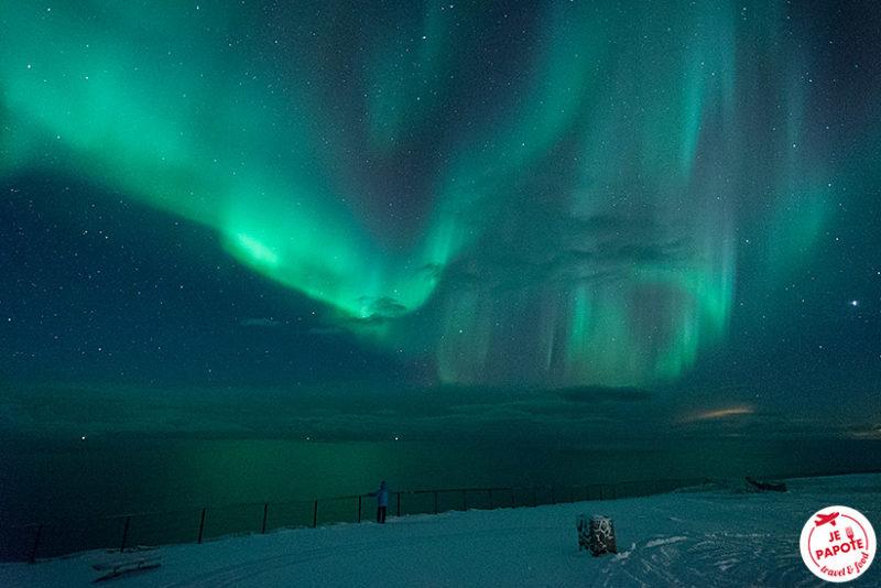 cap nord aurore boreale