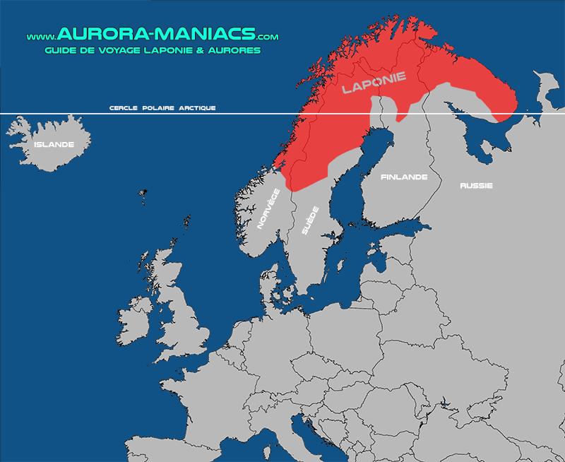Carte Laponie