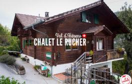 Mon séjour au Chalet Le Rucher en Suisse