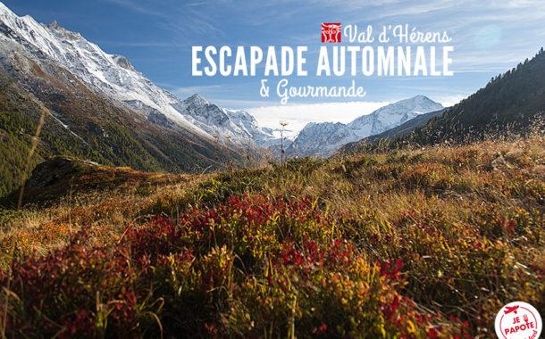 Escapade automnale au Val d'Hérens