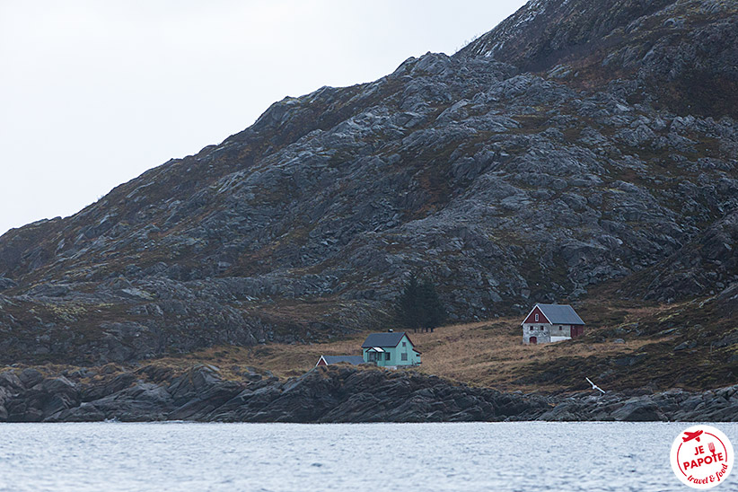 Kaldjord Norvege