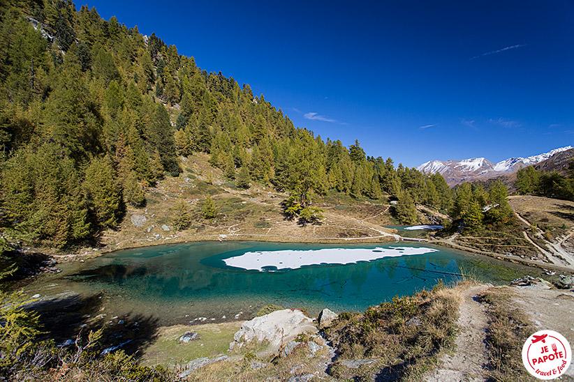 Lac Bleu d'Arolla