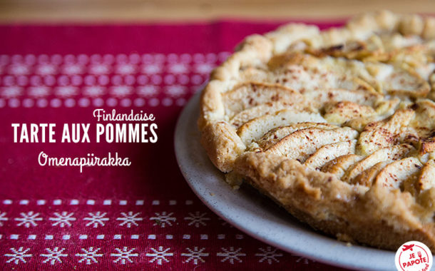 Tarte aux pommes finlandaise (Omenapiirakka)