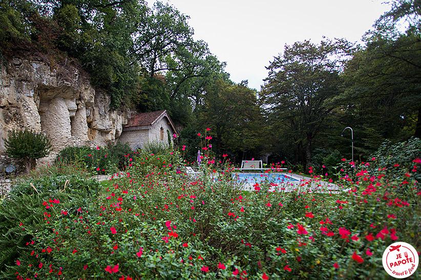 Piscine Château de Cambes