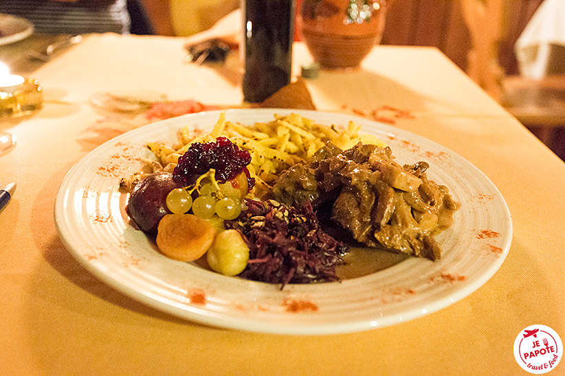 repas chasse locale Valais