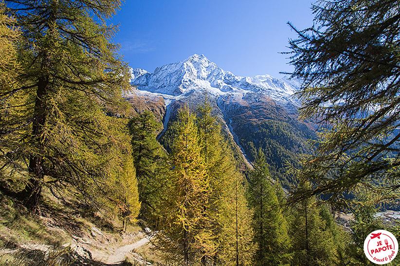 Randonnée Val d'Hérens automne
