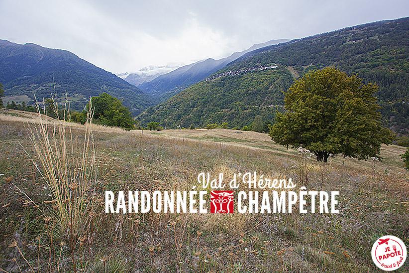 Randonnée Champêtre Val d'Hérens