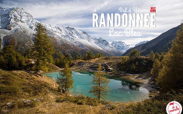 Randonnée au Lac Bleu d'Arolla - Val d'Hérens