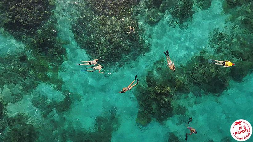 Snorkeling Blue Bay