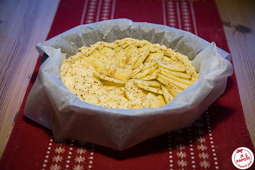 Recette tarte au pommes finlande
